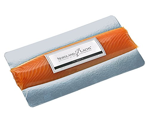 Nordland-Lachs Ultrapremium Lachs-Filet ROYAL geräuchert aus Schottland / das edelste Stück vom Nordland-Lachs für Feinschmecker / TOP Kühlversand (250g)