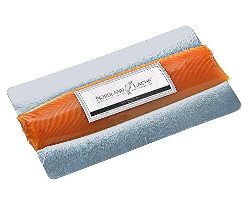 Nordlands-Lachs Ultrapremium Lachs-Filet ROYAL geräuchert aus Schottland / das edelste Stück vom Nordland-Lachs für Feinschmecker / TOP Kühlversand (250g)