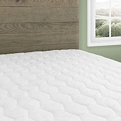 Cardinal & Crest Beautyrest Waterproof Ultimate Protection Mattress Pad With 15-inch Expand-A-Grip Skirt | Hypoallergenic Antimicrobial Water Protector