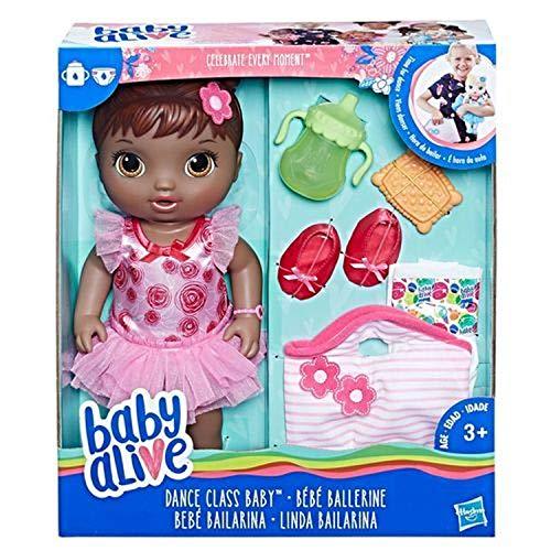 Baby Alive Dance Class Baby Exclusivo pelo negro