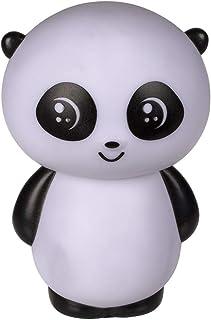 Luz nocturna de plástico con diseño de panda