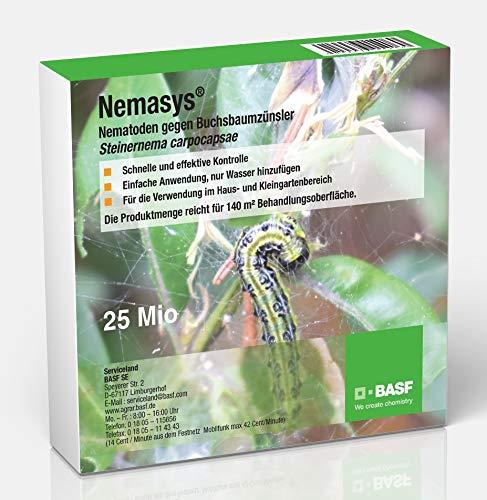 Nemasys® BASF SC Nematoden 25 Mio. (5 Bäume) gegen Buchsbaumzünsler (Steinernema carpocapsae)