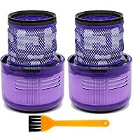 🌱 PERFECT FIT FOR DYSON - Compatible with dyson V11 torque drive cordless vacuum cleaner and V11 animal cord-free vacuum cleaner. Compare to part #970013-02. These filters are not compatible with dyson v11 outsize vacuum, V11 outsize filter part no. ...