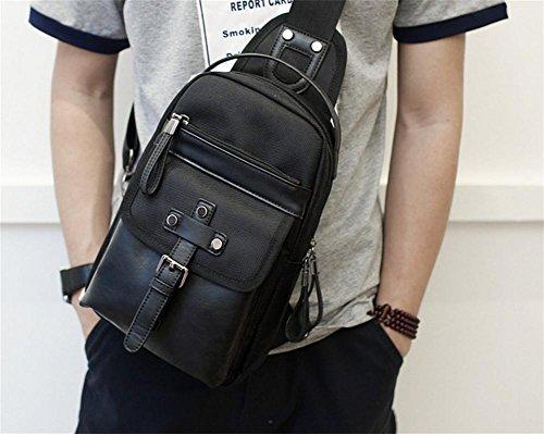Oxford Sports poitrine sacs rangement sport sac sac à bandoulière casual mode masculine tendance de la mode de l'externalisation