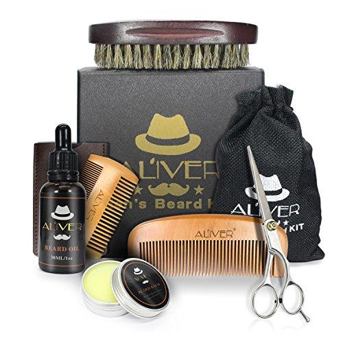 Bartpflege Set für Männer, Bart Kit für Männer Pflege
