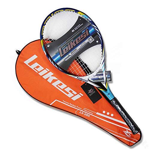 ZKDY Raqueta De Tenis De Aluminio Raqueta De Tenis De Deportes Al Aire Libre Raqueta De Entrenamiento Amateur-Uno