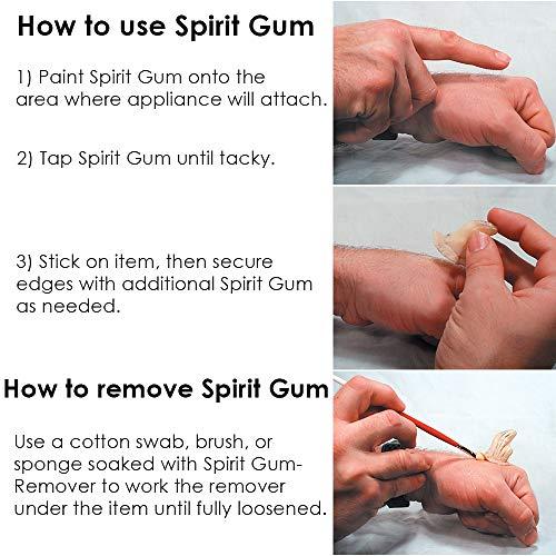 Graftobian Spirit Gum & Remover Combo