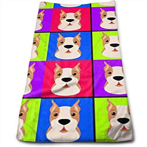 WTZYXS Halloween Kaarten Polyester, Fade Resistant, Zeer absorberend, Machinewasbaar, Hotelkwaliteit, Zacht Absorberend Handdoek 12