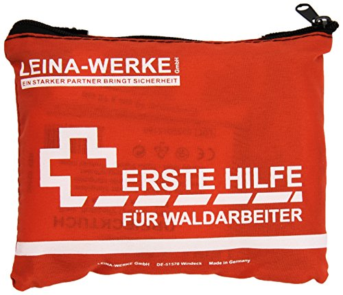 LEINAWERKE 51001 First aid kit for forest workers white-orange 1 pc.