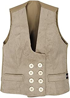 FHB 20015-13-40 Guild Vest Genuacord Hilde Size 40 in Beige