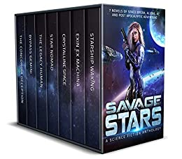 Savage Stars: 7 Novels of Space Opera, Aliens, AI, and Post Apocalyptic Adventure by [C. Gockel, G. S. Jennsen, A. K. DuBoff, Lindsay Buroker, Susan Kaye Quinn, Joseph R.  Lallo, J. J.  Green]