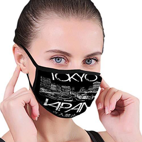 Staubdichte Abdeckungen für Erwachsene und Kinder Tokyo Japan Typografie Fashion Style Mundschutz