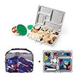 Product Image of the PLANETBOX Rover Eco-Friendly Stainless Steel Bento Lunch Box with 5 Compartments...