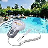 Medidor de cloro de Eariy, 2 en 1, medidor de agua de pH y cloro CL2, para piscina, acuario, spa, piscina