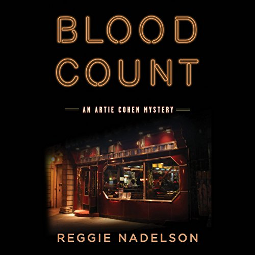 Blood Count  audiobook cover art