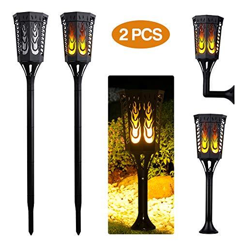 ACTOPP Torche Lampe Solaire jardin...