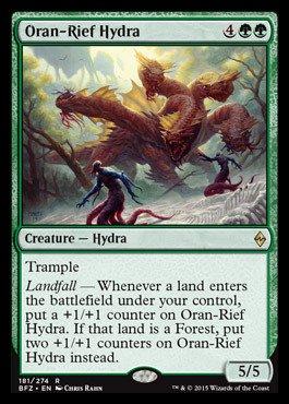 Magic The Gathering - Oran-Rief Hydra (181/274) - Battle for Zendikar