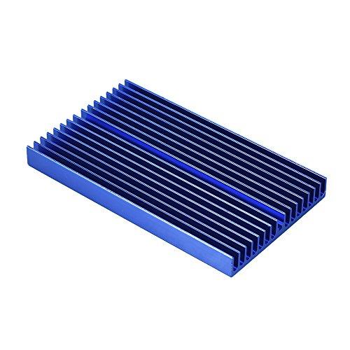 Walmeck disipador de calor, módulo de disipador de calor de aleación de aluminio, radiador azul de oxidación, disipador de calor con...