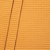 100% Baumwollstoff Waffel Piqué Stoff Meterware