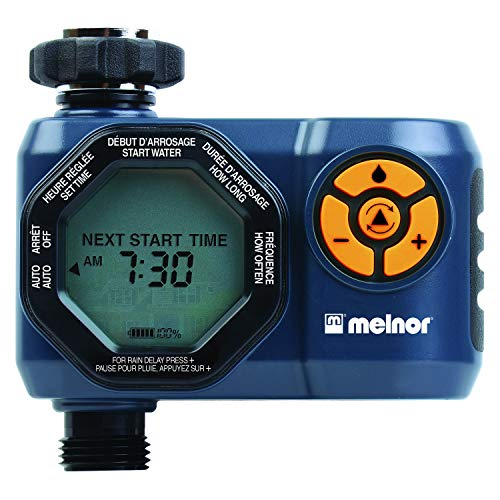 Melnor 15440-HDC Digital 4-Zone Water Timer