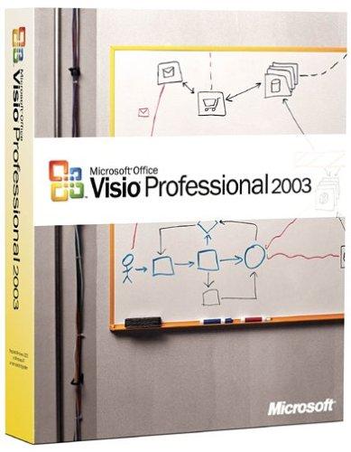 Microsoft Visio Professional 2003  OLD VERSION