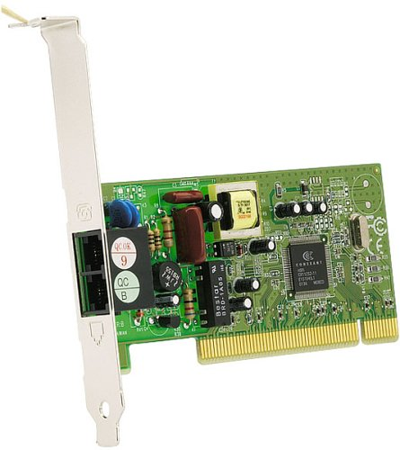 Sitecom DC-015 PCI 56Kbit Modem mit Faxfunktion V.90/V.92 Datentransfer/CTR-21
