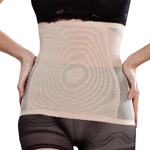 Dexinx Einfache Leichte Post Mutterschaft Gürtel Frauen Postpartale Bauch Wrap Band Mutterschaft Recovery Unterstützung Gürtel Hautfarbe L
