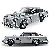 1314 unids Aston Martin sedán Modelo de Coche de simulación de Coche ensamblado Bloques de construcción para niños Juguetes educativos para niños