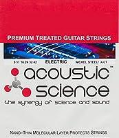 Acoustic Science エレキギター弦 Nickel エクストラライト LACSEG0942