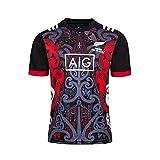 Maillot De Rugby All Blacks De Nouvelle-Zélande 2019-2021, Polo À Manches Courtes pour La Coupe du Monde De Rugby À Domicile T-Shirt D'entraînement Sportif