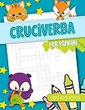 cruciverba per bambini - libro delle attività: 50 giochi di parole per ragazzi da 8 a 12 anni