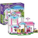 BRICK STORY Girls Friends House Building Blocks...