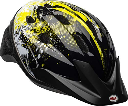 BELL Youth Richter Helmet, Black Riot, Model Number: 7049692