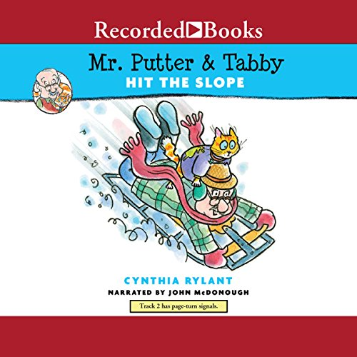 Mr. Putter & Tabby Hit the Slope audiobook cover art