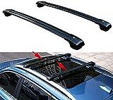 2 piezas Barra de techo Aluminio para Chevrolet TRAX 2013-2019   Barras transversales para portaequipajes de techo   Soporte para techo de bicicleta para Exterior Deportes y Viaje