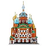 Edificio de San Petersburgo, mini kit de bloques de construcción, educación de construcción para niños rompecabezas 3D regalo de juguete de bricolaje. 0003,1298pcs