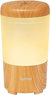 Syntus USB Car Essential Oil Diffuser Wood Grain Mini Portable Aromatherapy Aroma Fragrance Humidifier Air Freshener Purif...