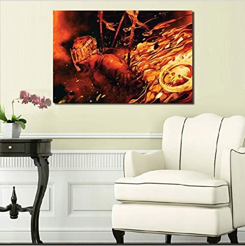 Zahuishile Mad Maxes Fury Road Inspiriert Tapete Leinwand Poster Wandkunst Malerei Dekorative Bild Moderne Schlafzimmer Dekoration 40X60 cm Ohne Rahmen