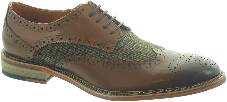 Lacey - herr Coy Tweed Lace skor skor skor in Tan  erbjudanden försäljning
