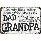 10 Best Grandpa Signs