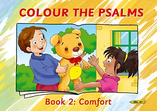 Colour the Psalms Book 2: Comfort (Bible Art)