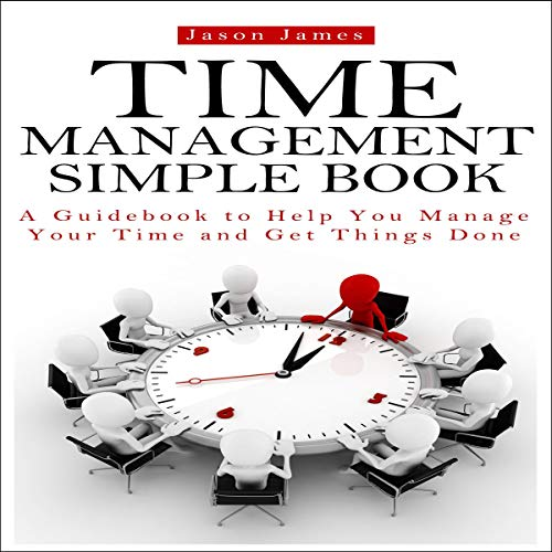 Time Management Simple Book cover art