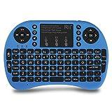 (Upgraded) Rii 2.4GHz Mini Wireless Keyboard...