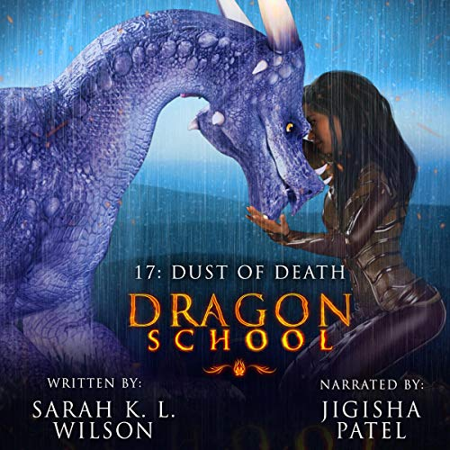 Dragon School: Dust of Death audiobook cover art