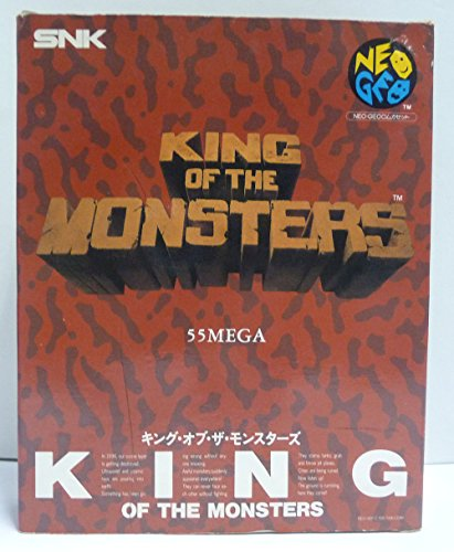 King of the monsters Carton box - Neo Geo AES - JAP