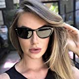 Kariwell Summer Gift Fashion Cat Eye Sunglasses - Ultra Lightweight Glasses for Shopping Hiking Camping Swimming Best Gift for Her Kari-28 (A)