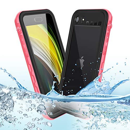 Mijobs [4.7' Funda Impermeable para iPhone SE 2020 Funda 360,Funda Impermeable para iPhone 8/7/SE2 Funda Protectora de Cuerpo Completo Fundas IP68 Funda iPhone SE 2020/8/7