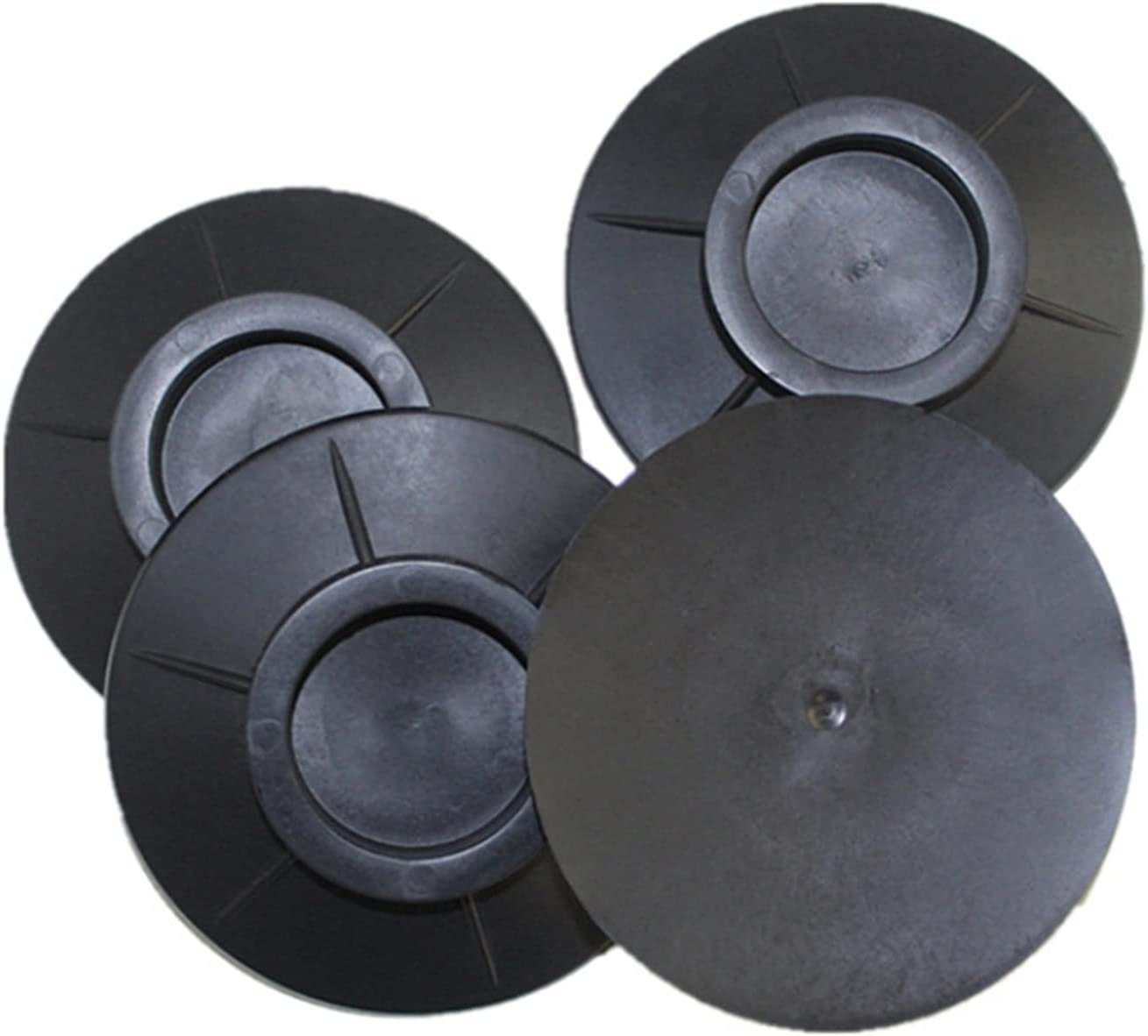 HSLFZD Furniture Cup Factory Ranking TOP2 outlet 4pcs Rubber Mat Absorption Non- Floor Shock