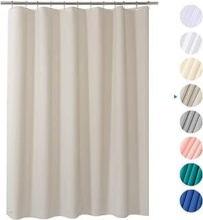 Best plain white cotton shower curtain Reviews