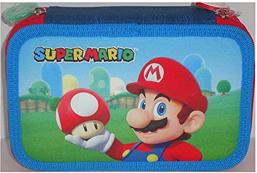 astuccio scuola elementare super mario Astuccio Scuola 3 Zip Super Mario 200360